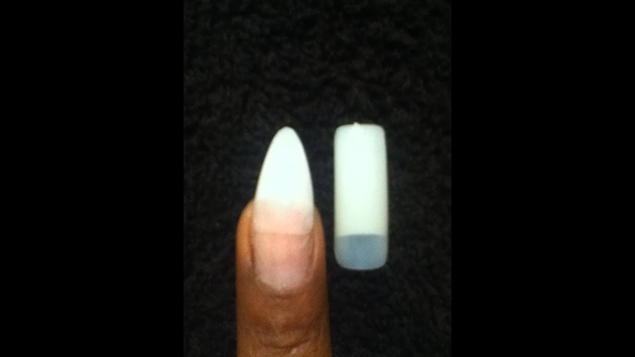 square stiletto nails photo - 2