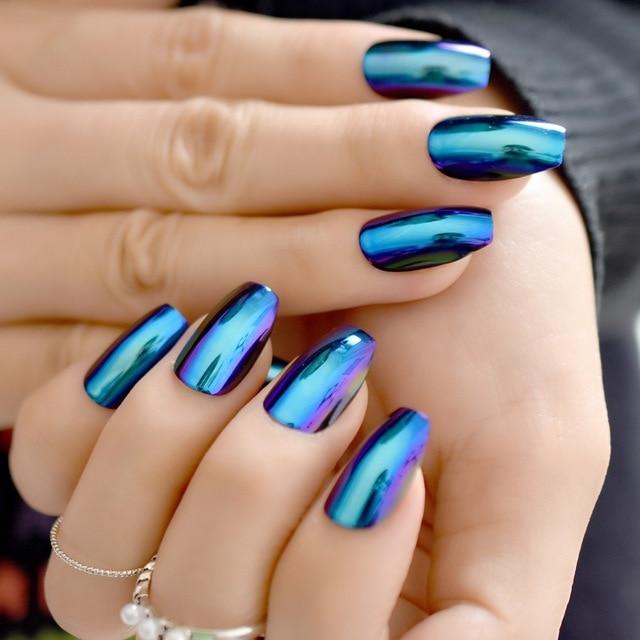 stiletto acrylic nails medium photo - 1