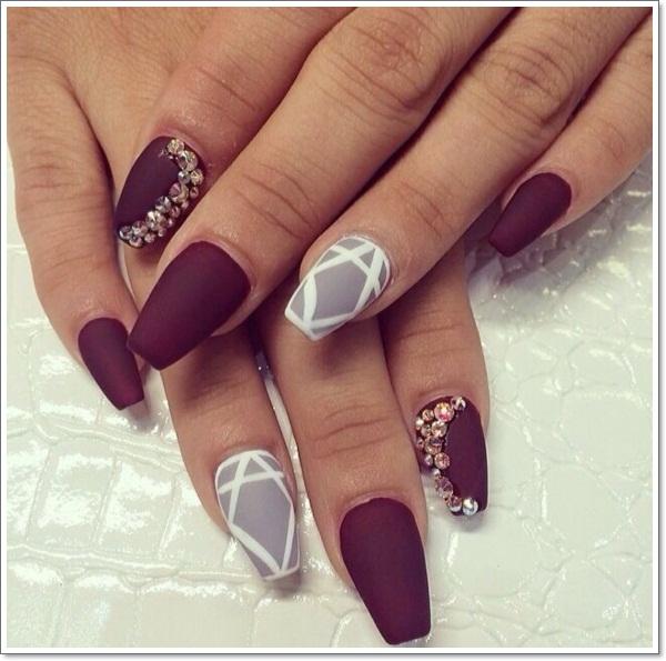 stiletto coffin nails photo - 2