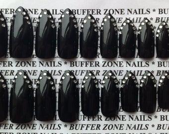 stiletto false nails boots photo - 2
