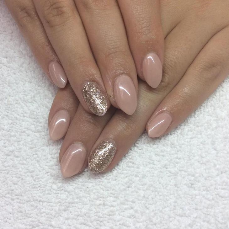 stiletto gel nails designs short photo - 1