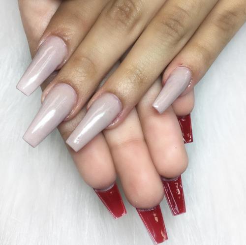 stiletto nails christian photo - 1