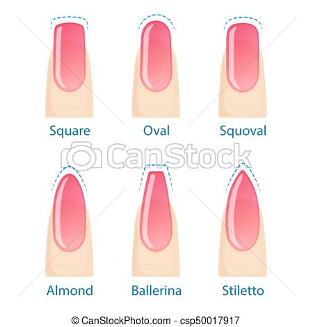stiletto nails clipart photo - 2