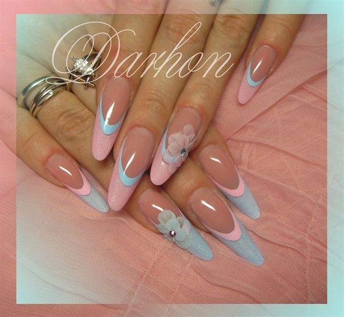 stiletto nails for shower photo - 1