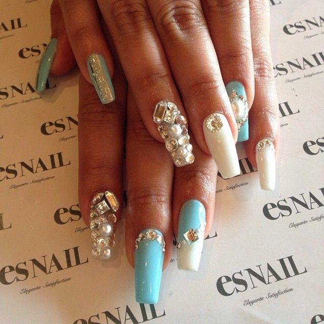 stiletto nails for shower photo - 2