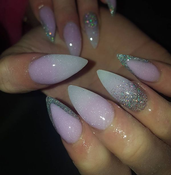 stiletto nails gallery photo - 1