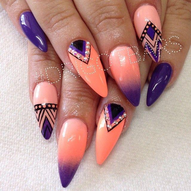 stiletto nails instagram photo - 1