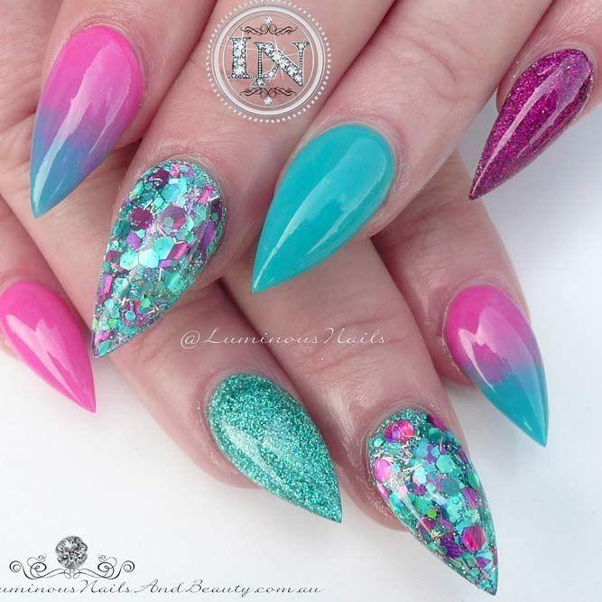 stiletto nails short for sale photo - 1