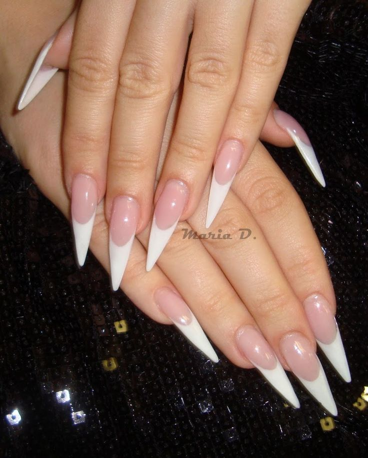 stiletto nails tips photo - 2