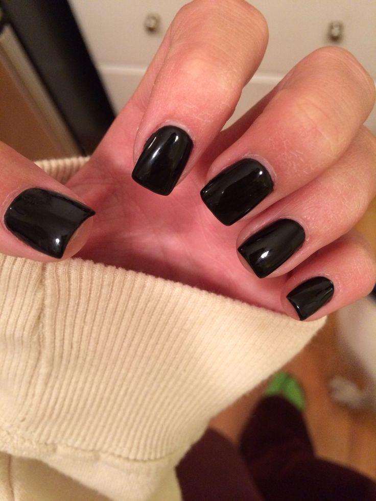 stiletto square nails short photo - 2