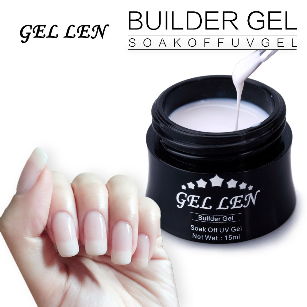 strongest builder gel nails photo - 2