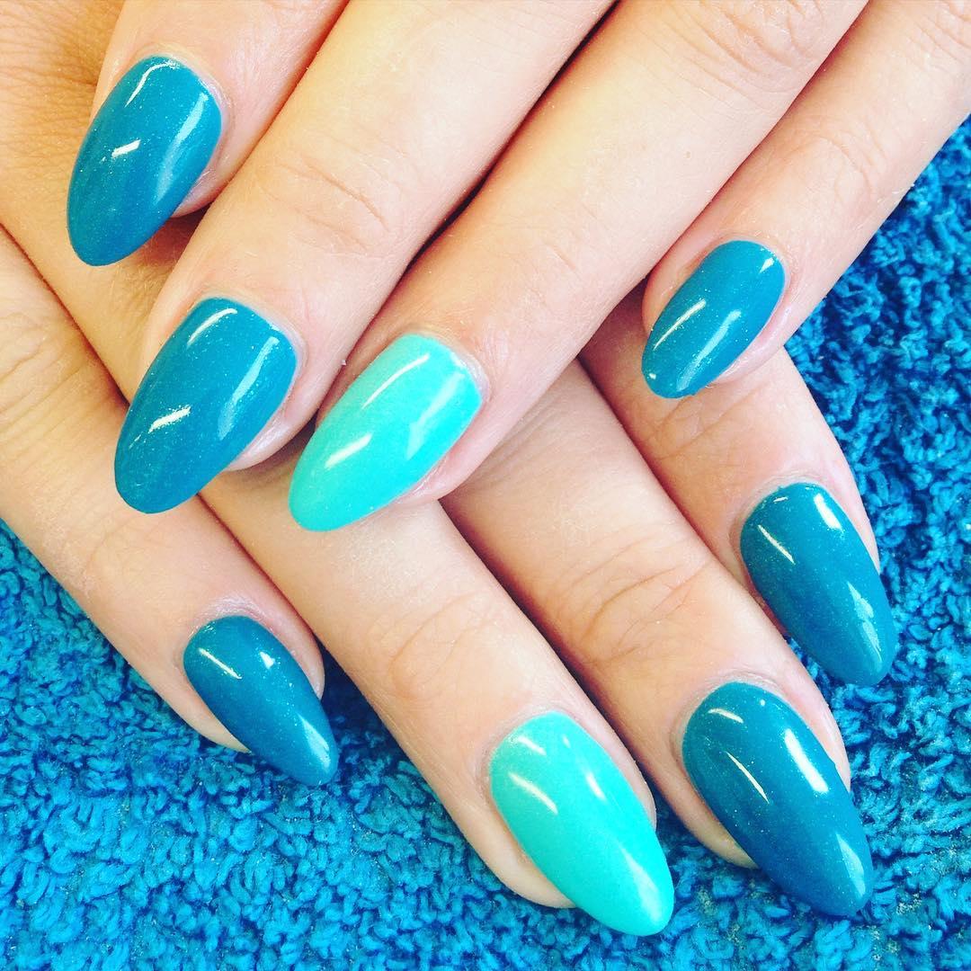 summer acrylic nails designs photo - 2