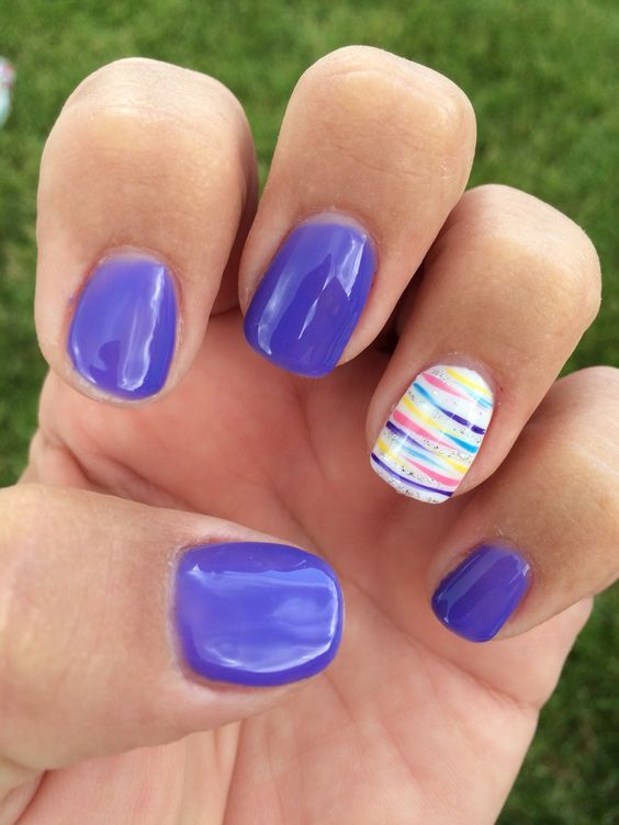 Summer gel nails - Expression Nails