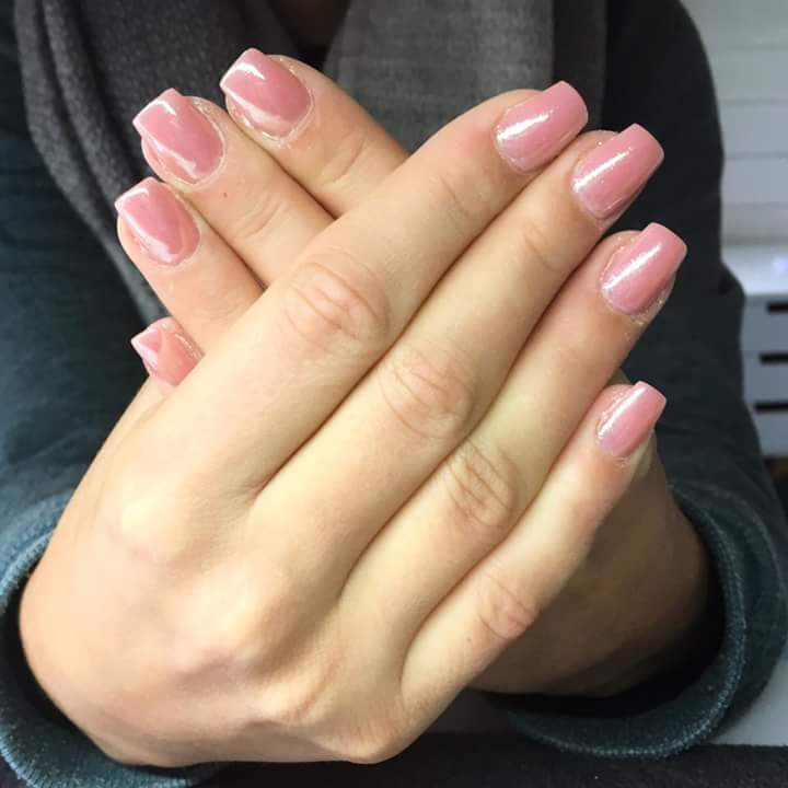 Super Square Pink And White Acrylic Nails New Expression Nails