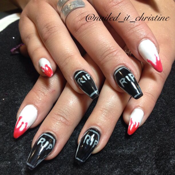 symbol apple with coffin nails photo - 2