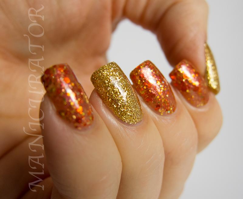 Thanksgiving acrylic nails - Expression Nails