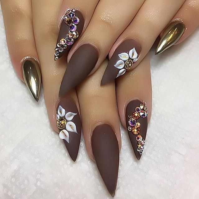 thanksgiving coffin nails photo - 1