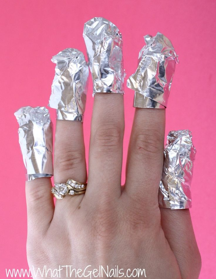 the easiest way to take off acrylic nails photo - 2