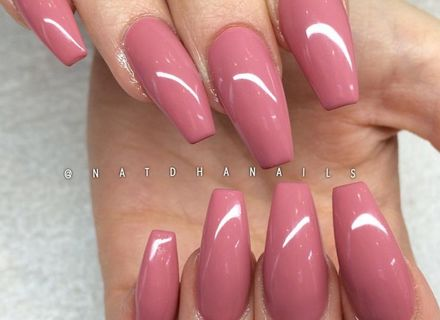 thick coffin nails photo - 2