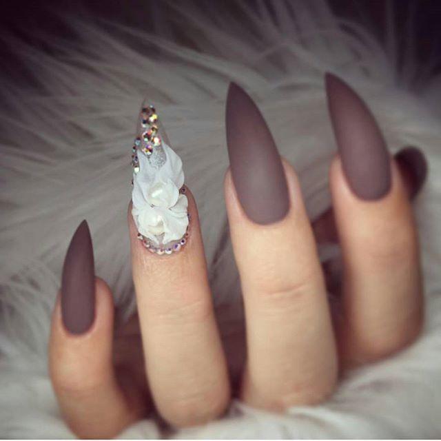 ugly square acrylic nails photo - 1