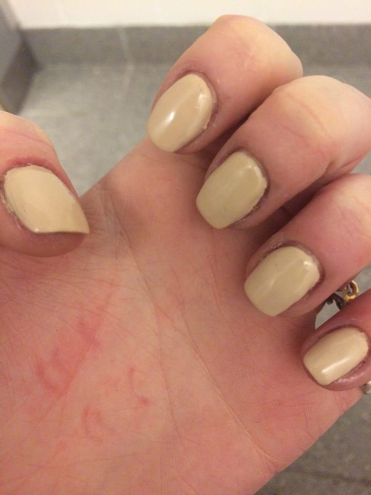 ugly square acrylic nails photo - 2