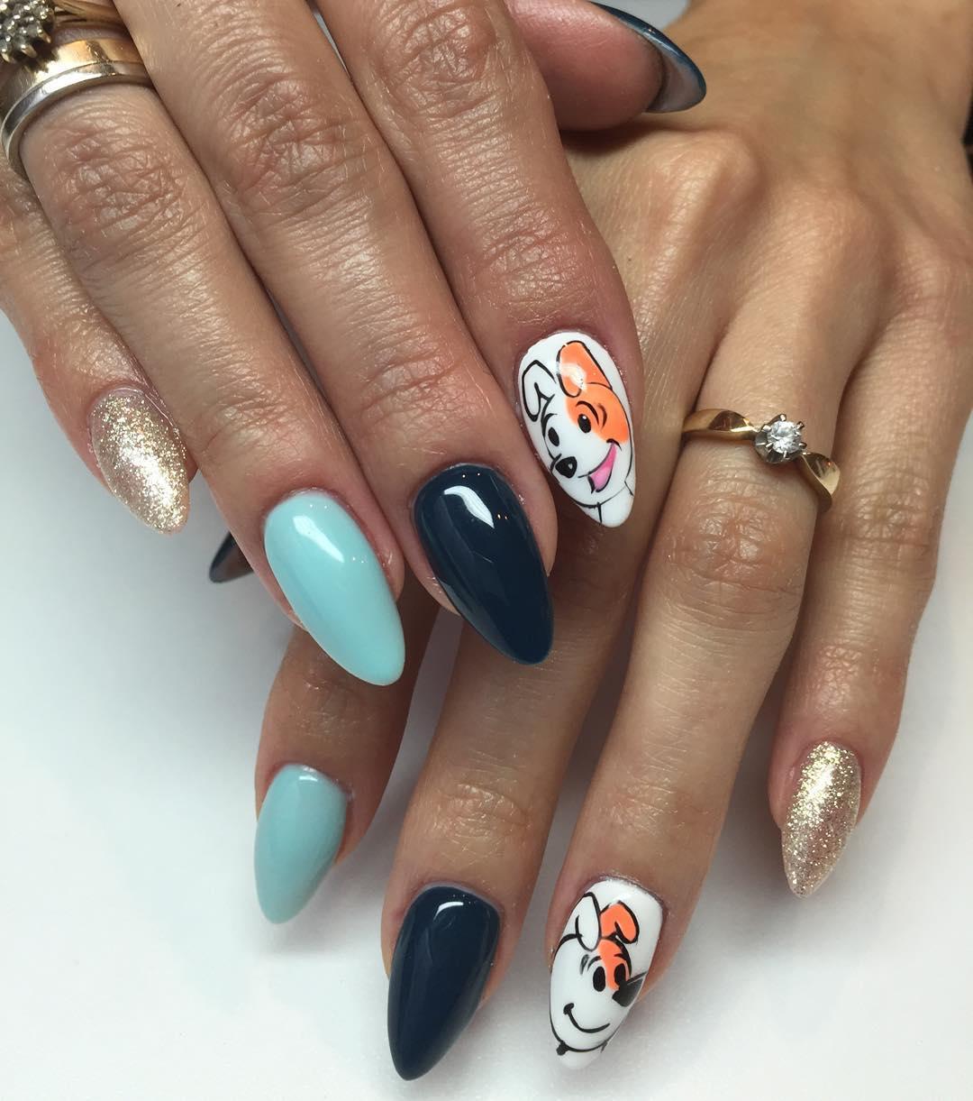 Unique Acrylic Nails Designs Expression Nails