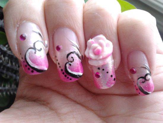 Valentine Acrylic Nails Designs Expression Nails