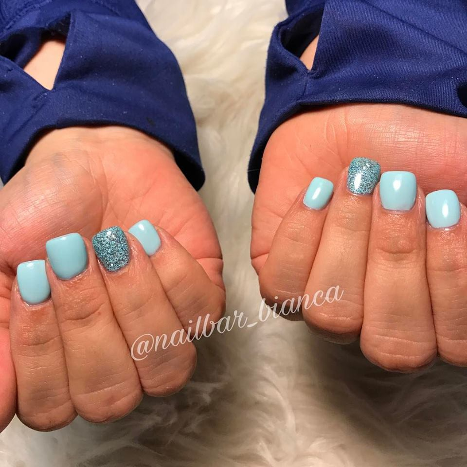 Wedding acrylic nails - Expression Nails
