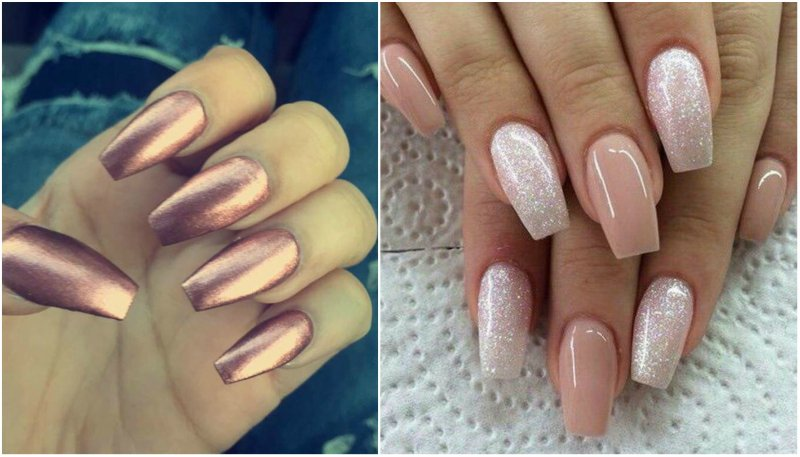 What are coffin shaped nails - Expression Nails