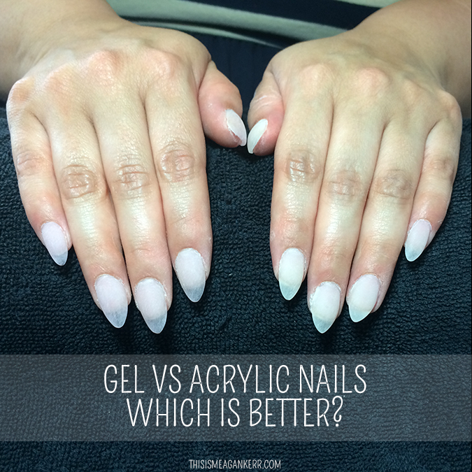 what is gel nails vs acrylic nails photo - 1