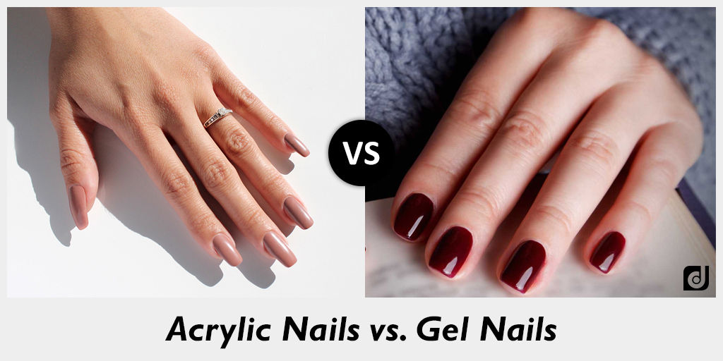 what is gel nails vs acrylic nails photo - 2