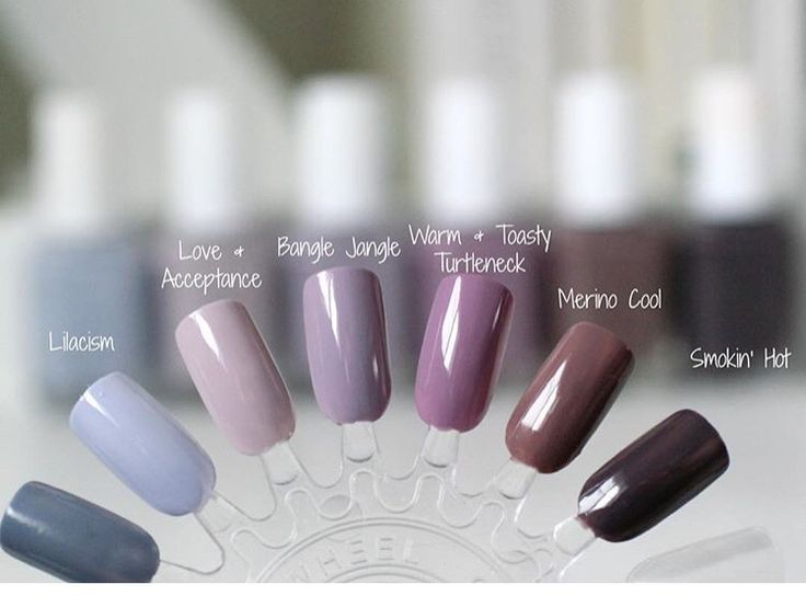 what is the most popular color of gel nails colors or french photo - 1