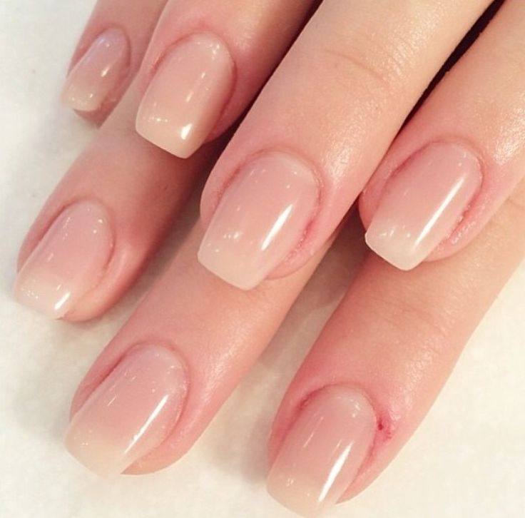 what shape for hard gel nails photo - 2