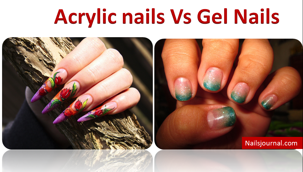 what the difference between uv gel nails and acrylic photo - 2