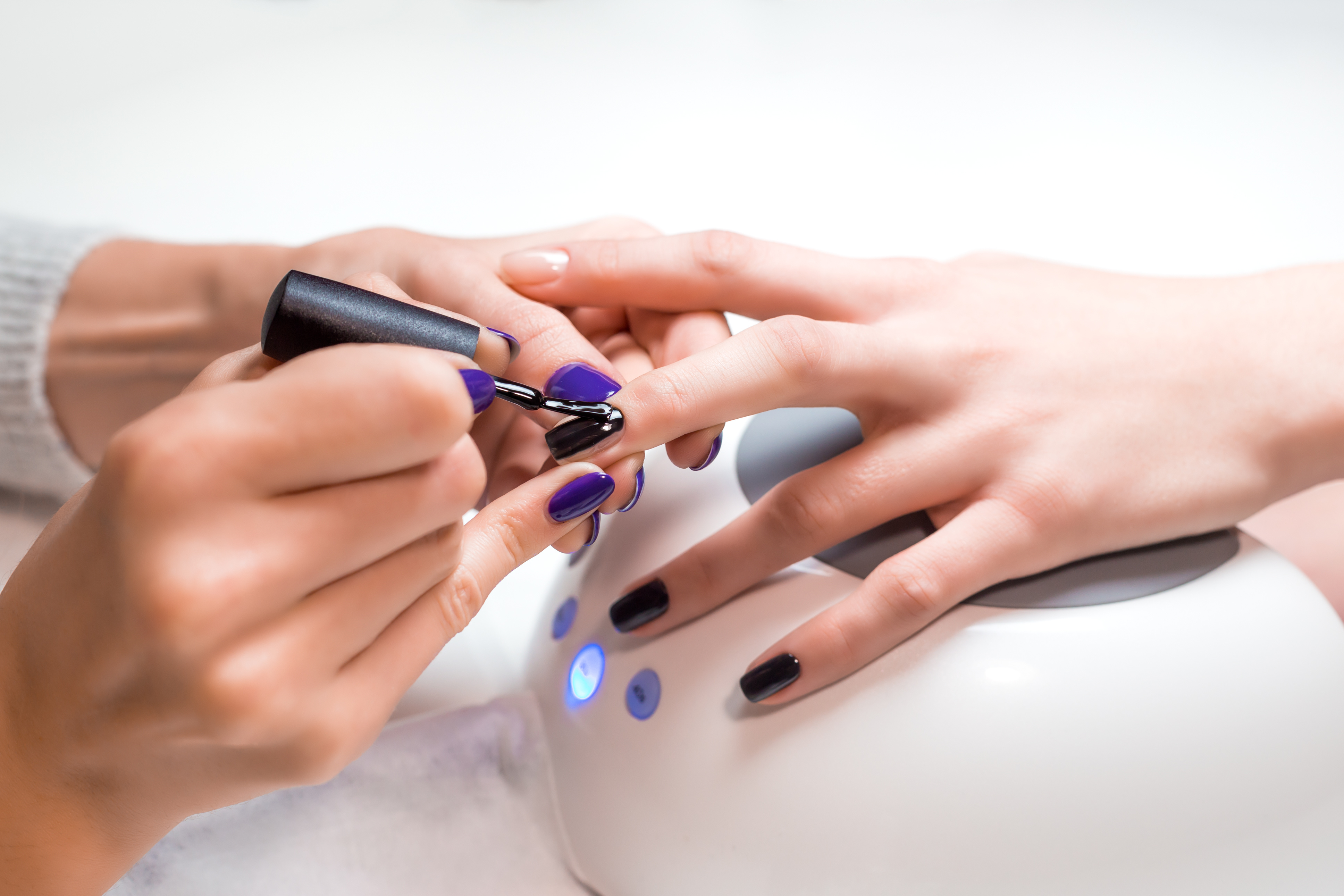 what to ask or if you want gel nails at a nail salon photo - 1