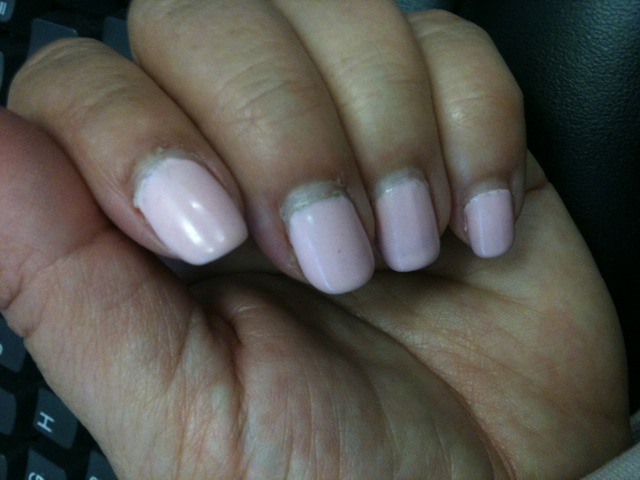 what to do gel nails grow out photo - 1
