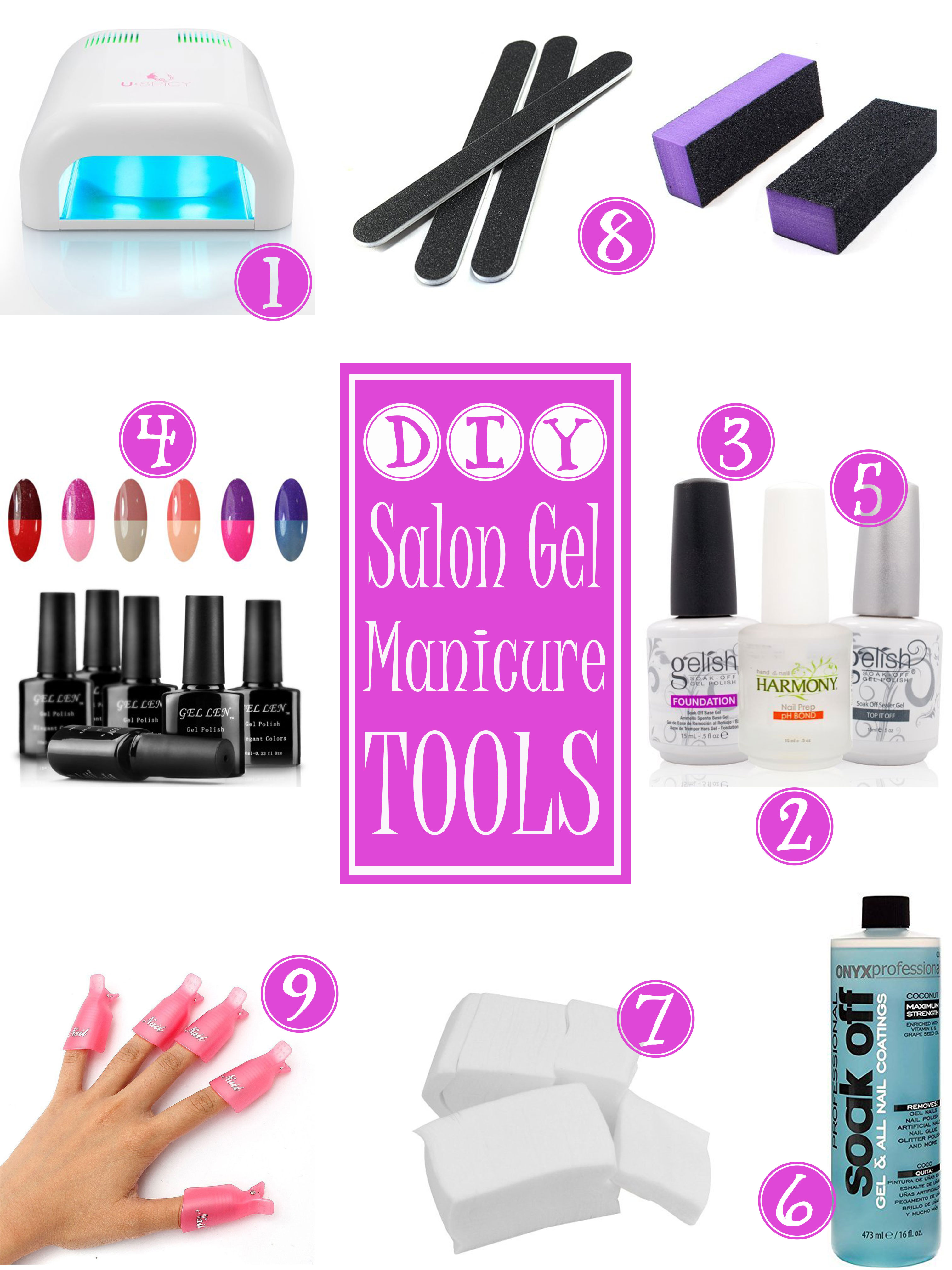 what you need to do gel nails at home photo - 1