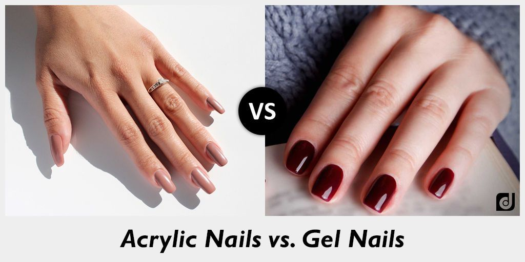 whats the difference between gel nails and acrylic nails photo - 2