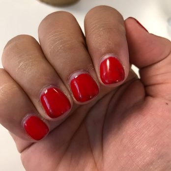 when gel nails turning black photo - 2