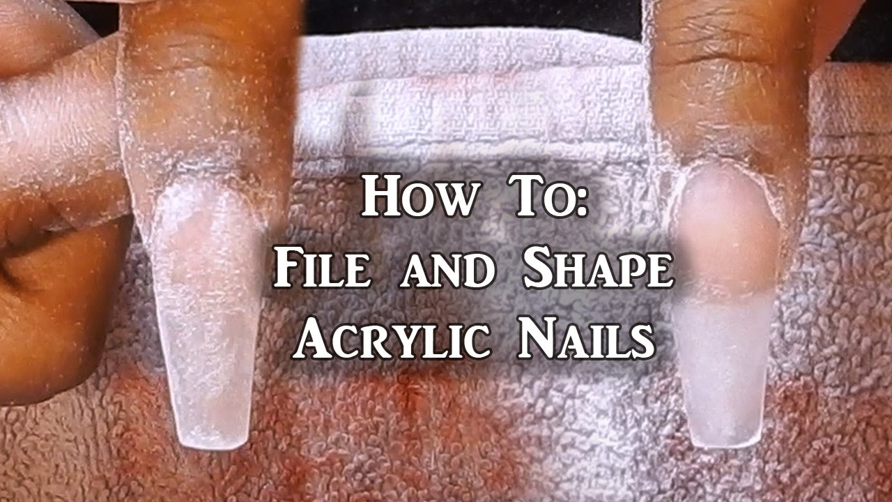 when to remove acrylic nails photo - 1