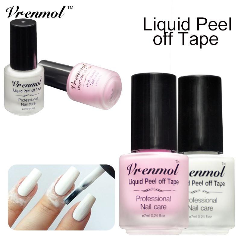 white gel nails with gemsdark skin photo - 2