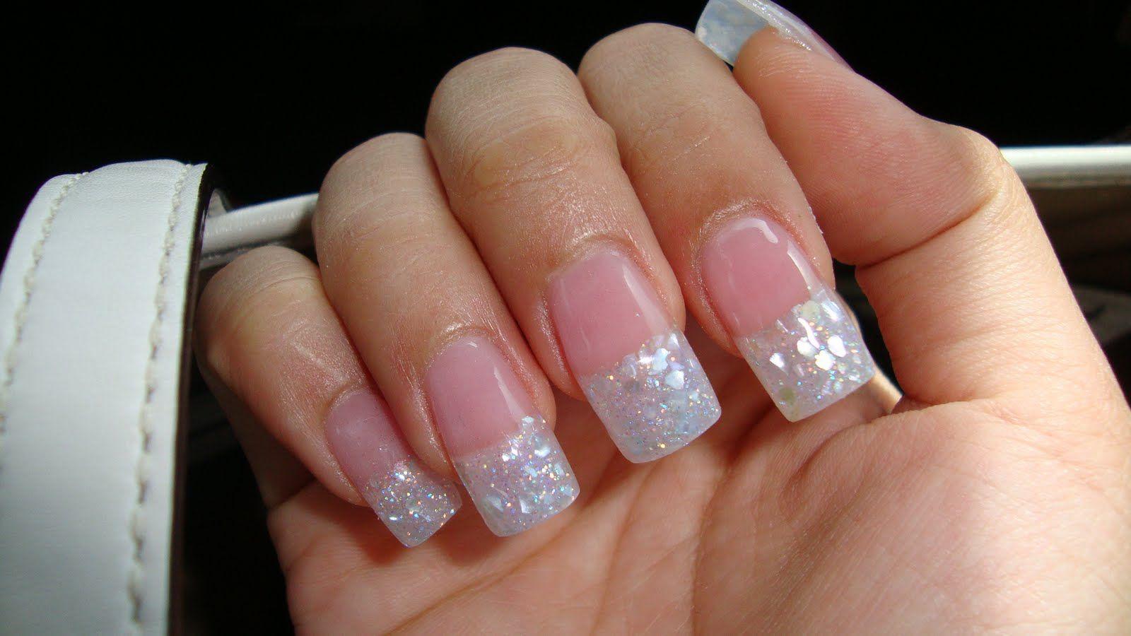 white square acrylic nails photo - 1
