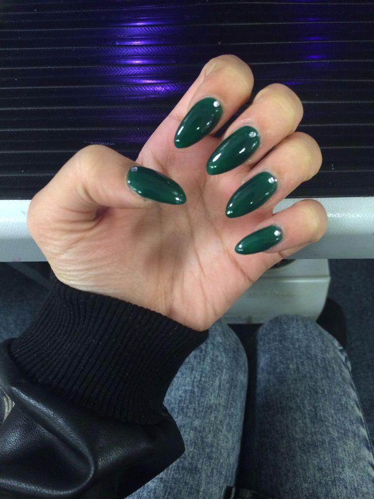 white stiletto nails short photo - 2
