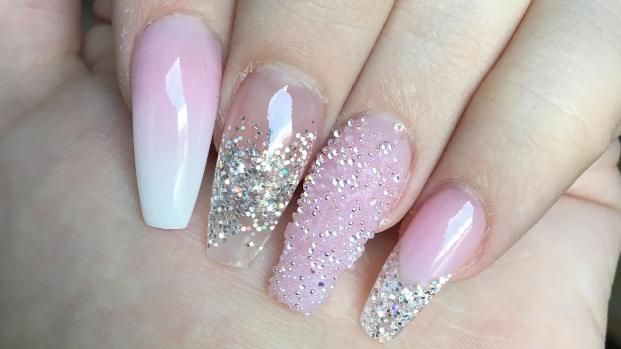 why acrylic nails photo - 2
