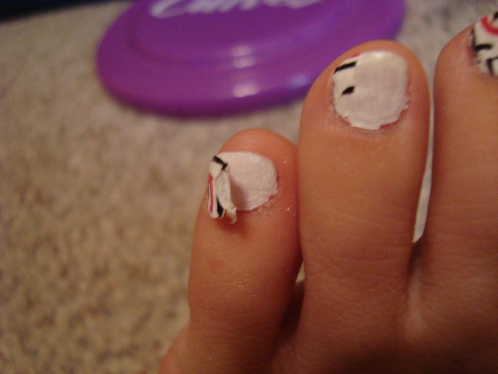 why do acrylic nails crack photo - 2