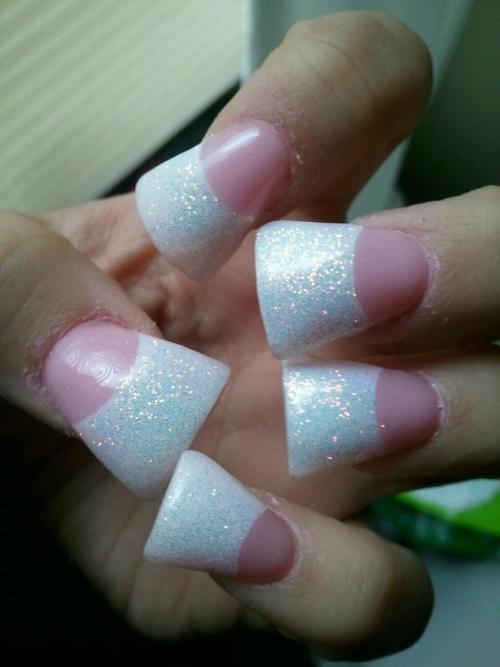 wide acrylic nails photo - 1