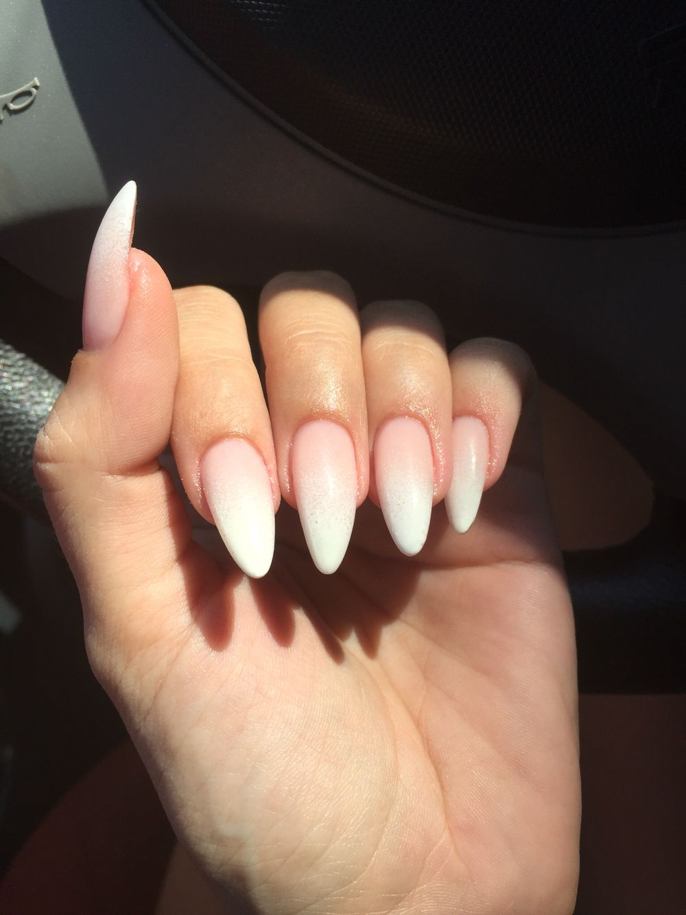 wine stiletto nails photo - 2
